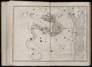 קבוצת הכוכבים דראקו, יוהאנס באייר (Johann Bayer), האורנומטריה, 1661