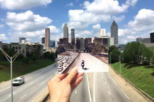"""ג'ורג'יה מתגאה בזיהויה של אטלנטה עם סדרת הטלוויזיה הפופולארית """"המתים המהלכים"""", תמונה מתוך האתר Explore Georgia, צילום: אנדראה דיוויד"""