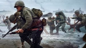 Normandy Beach, 2017 // The 14th edition of the action videogame series Call of Duty